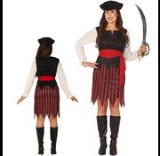 Piraten dames kostuum