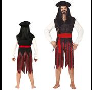 Piraten heren kostuum