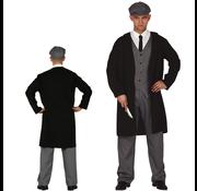 Mannen maffia kostuum