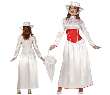 Dames jurk wit