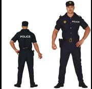 Politie kostuum man