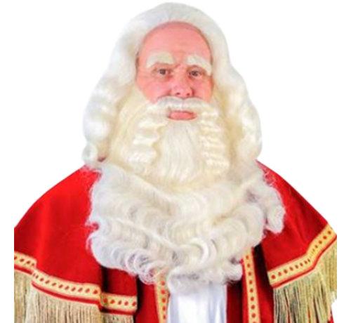 Sinterklaas baardstel buffelhaar luxe tule