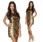 Disco glitter jurk