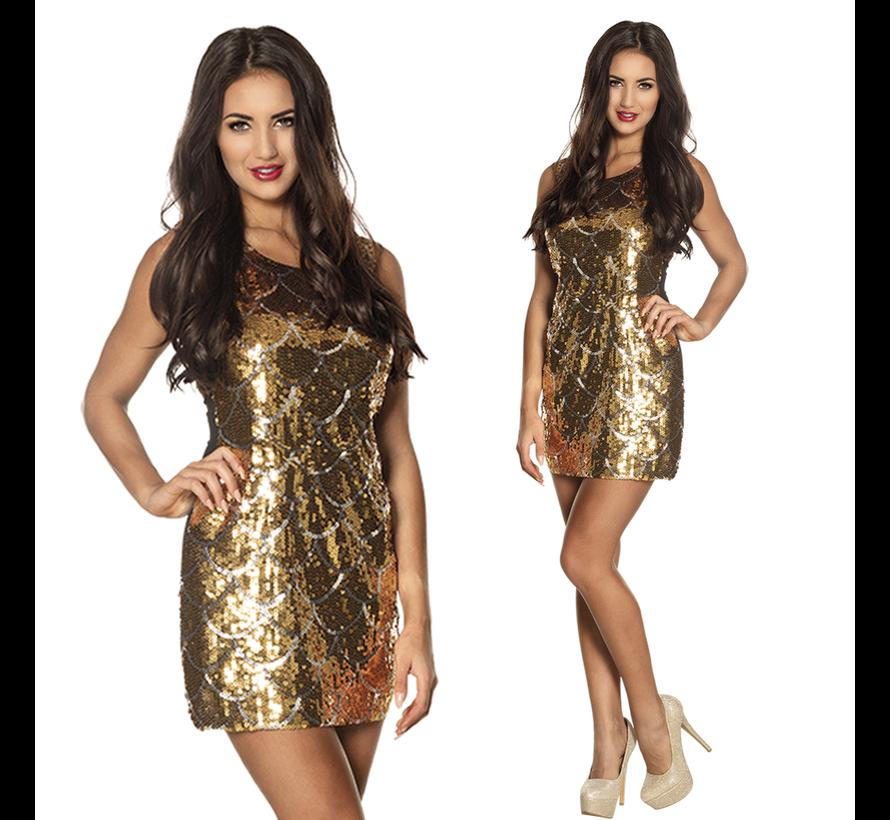 Disco glitter goud