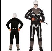 Skelet fortnite kostuum