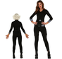 Black widow kostuum dames