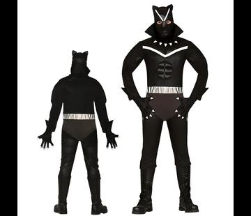 Black panther kostuum
