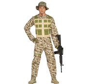 Militaire kleding grote