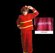 Kinder brandweerman pak
