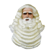 Sinterklaas baardstel yac haar