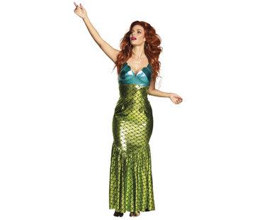 Zeemeermin jurk dames