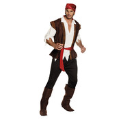 Piraten kostuum Black Bellamy
