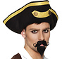 Plak snor en sik piraat