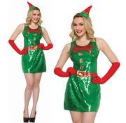 Merry Christmas jurk