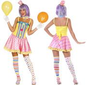 Dames pink clown