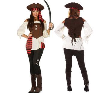 Dames piratenpak