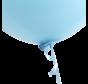 Baby blauw snelsluiters voor ballonnen