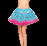 Petticoat blauw-pink