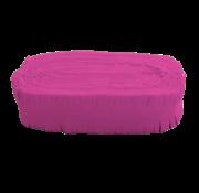 Brandvertragende crêpe slinger hard roze