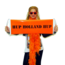 Roll up Banner Oranje