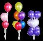 Ballonnen toeven / Ballontrossen
