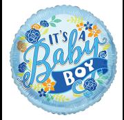 Folie It's A boy ballon