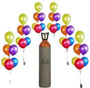 Helium voor ca. 300/400  ballonnen