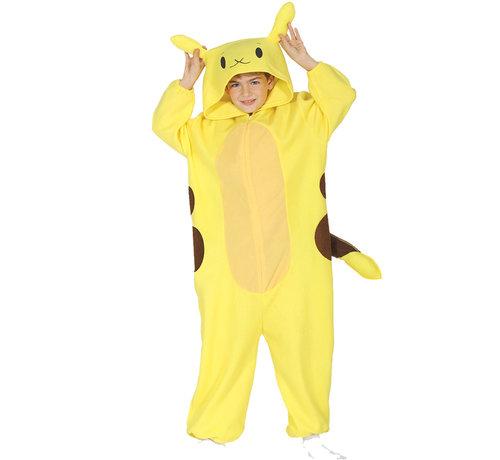 Geel Pokemon kind kostuum