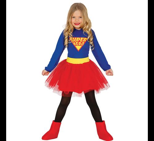 Superhero kostuum kind meisje