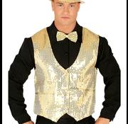 Glitter gilet heren