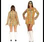 Compleet hippie dames kostuum