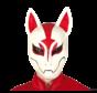 Fortnite fox masker latex