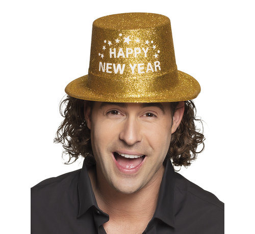 Happy new year hoed goud