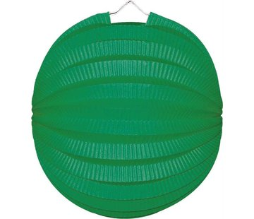 Bol lampion groen