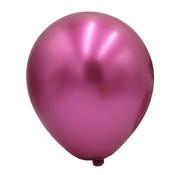 Magenta metallic ballonnen