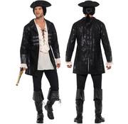 Buccaneer Piratenjas zwart