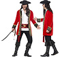 Rode Piraten kapitein jas