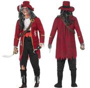 Buccaneer kapitein kostuum