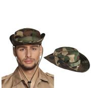 Camouflage hoed
