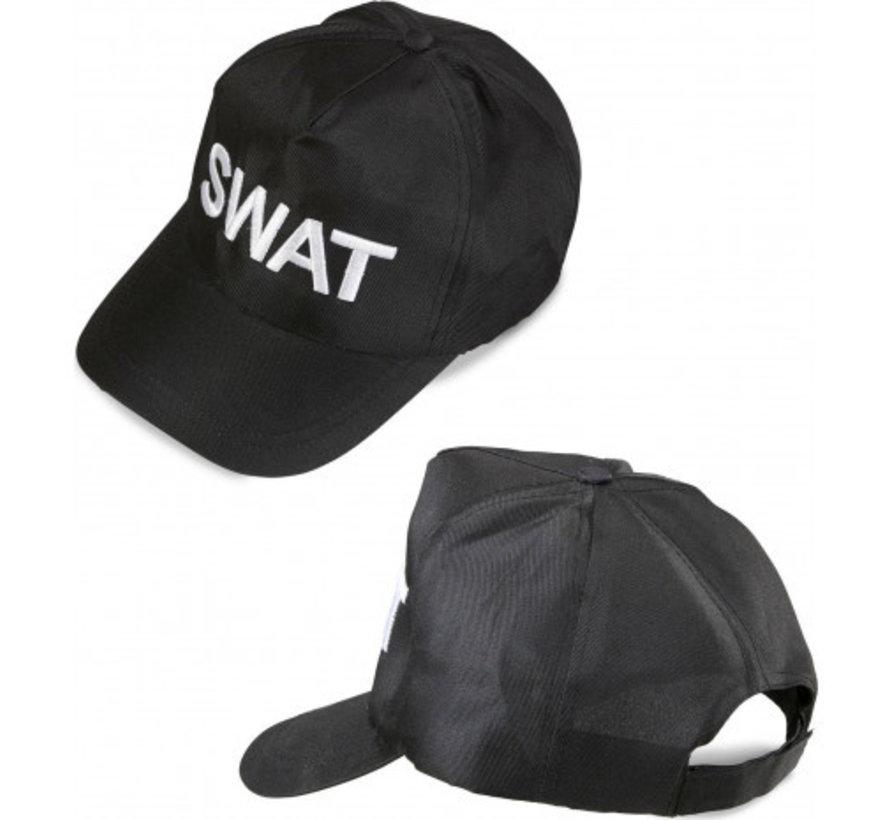 Zwarte S.W.A.T  pet volwassenen
