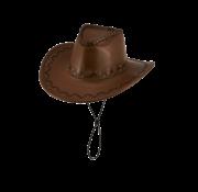 Cowboy hoed bruin