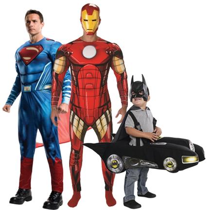 Superhelden pakken online kopen
