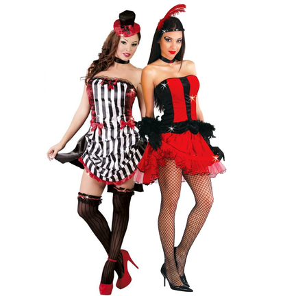 Burlesque thema outfits