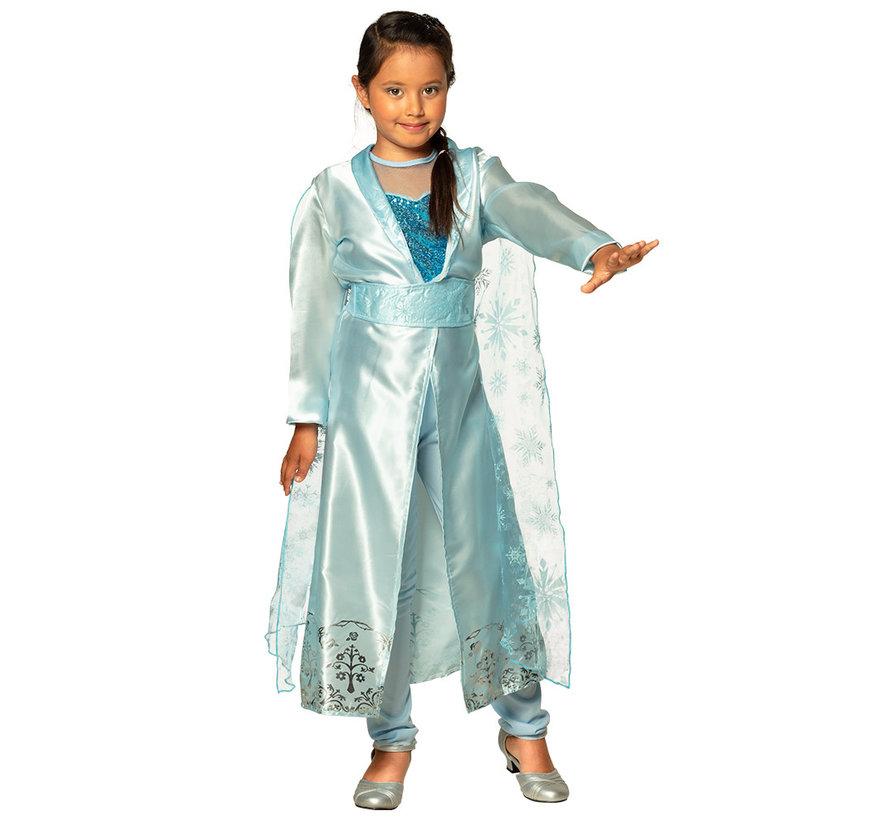 Prinsessen sneeuw jurk kopen