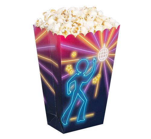 Kartonnen popcorn bak Disco