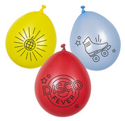 Latex disco ballonnen