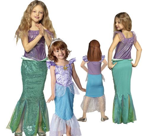 Ariel Zeemeermin jurk kind