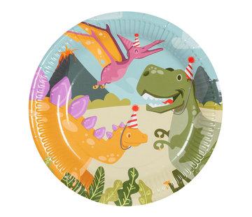 Dinosaurus papieren borden
