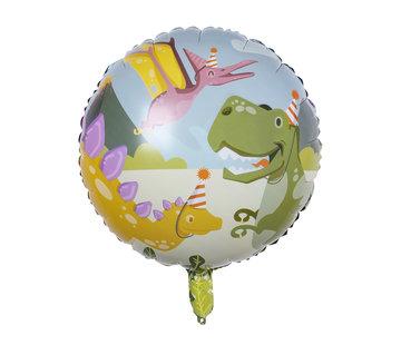 Folie ballonnen dinosaurus