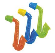 Saxophone instrument gekleurd